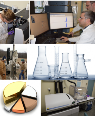 CESE laboratory image collage